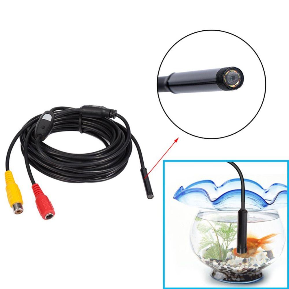 Mini AV 12 v Wasserdichte Endoskop Inspektion Endoskop Kamera Endoskop 5,5mm Mit Viele Viele Anwendungen & Maschine Inspektion 5 Mt
