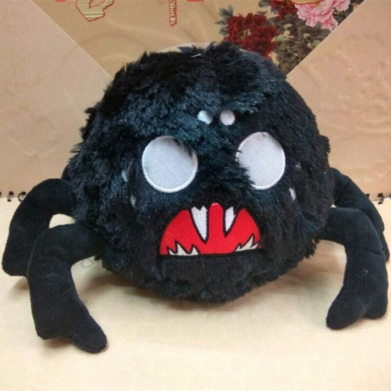 Don't Starve Chester Plush Do Not Starve Brown Cattle Cow Spider Replica Stuffed Toy