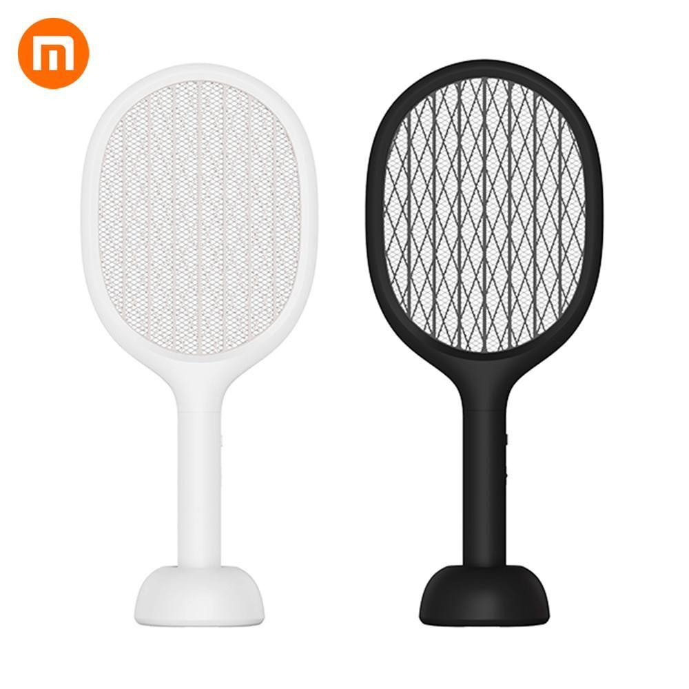 Xiaomi Solove P1 Elektrische Moskito-klatsche Insekten Bug Fly Moskito Dispeller 360nm UV Licht Doppel Größe Anti-elektrische Schock net