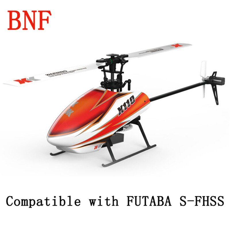Original XK K110 Explosion 6CH Brushless 3D6G System 3D Kunstflug Schwebt Flug 6 Achsen-gyro Spielzeug Geschenk RC Hubschrauber BNF