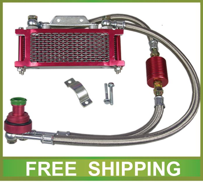 CG125 CG150 CG200 CG250 motorcycle radiator cooling system alloy cg engine zongshen lifan zhujiang accessories free shipping