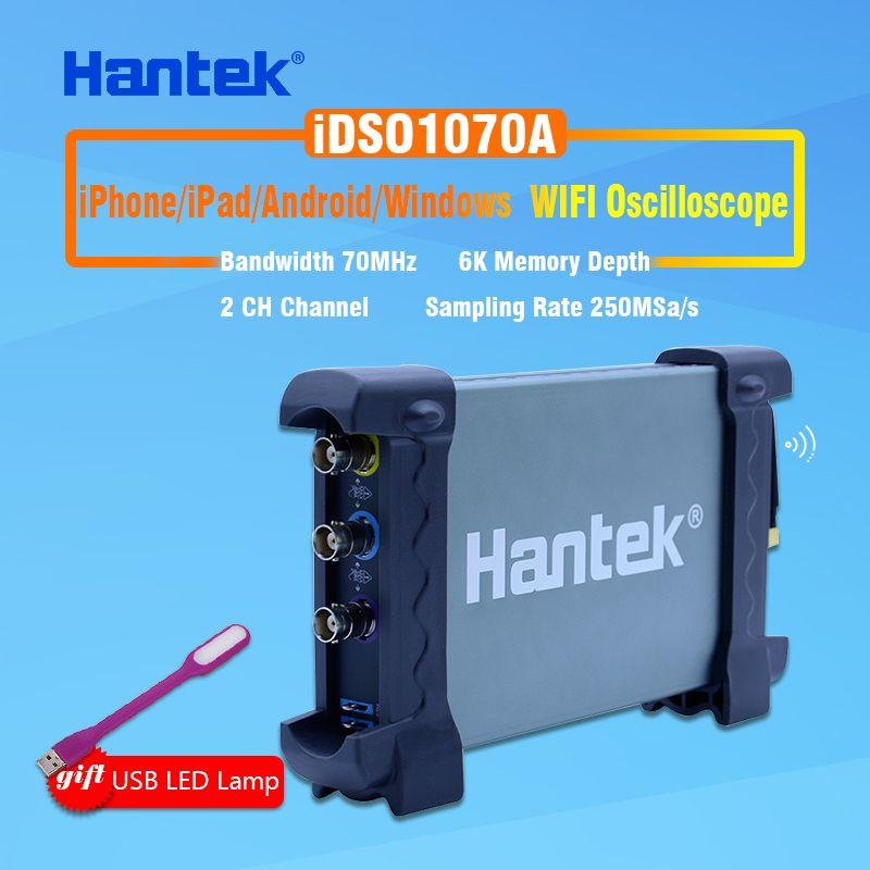 2CH 70 MHz digital-oszilloskop Hantek iDSO1070A iPhone/iPad/Android/Windows Oszilloskop WIFI Kommunikation + Geschenk