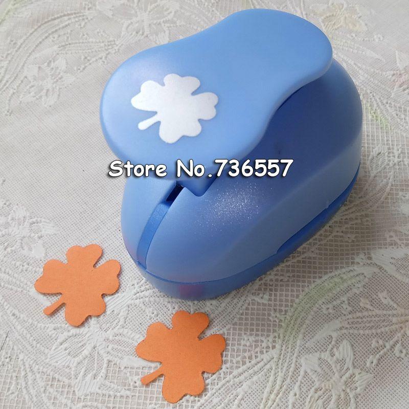 2-2,5 cm vier kleeblatt form punch eva-schaum papier puncher für grußkarte handgemachte Sammelalbum freeshipping
