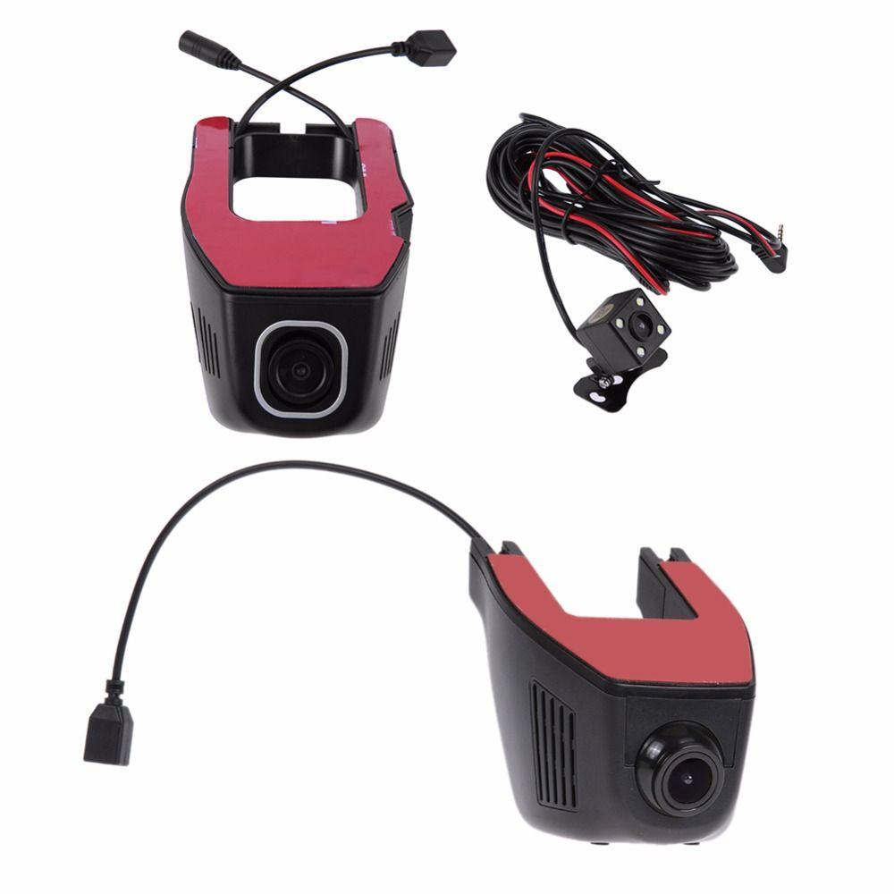 1080P High Definition WiFi Car DVR Video Camera Recorder Dash Cam 170 Degree G-sensor Motion Detection