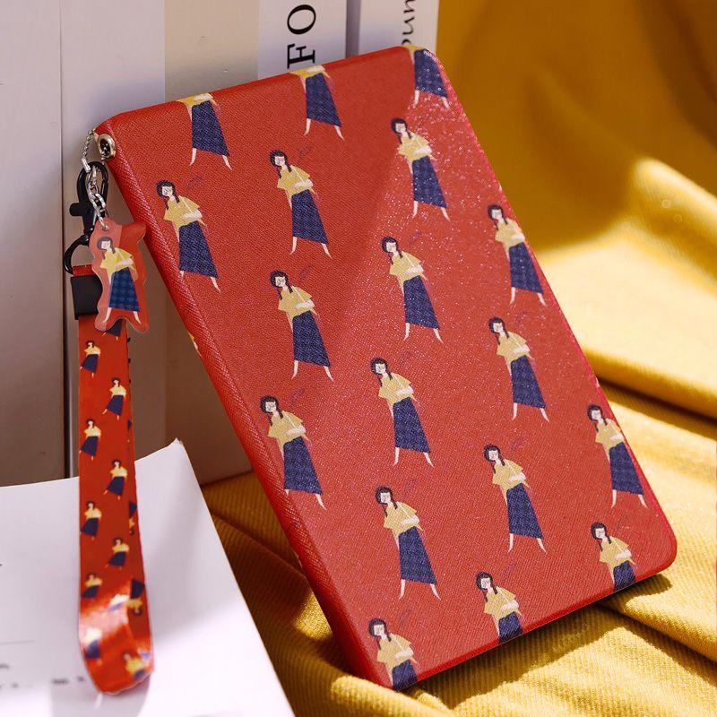 Wörtliche Mädchen Smart Fall Flip-Cover Für iPad Pro 9,7 10,5 Luft Air2 Mini 1 2 3 4 weiche tpu Fall Für ipad Tablet 9,7 2017 2018 A1893