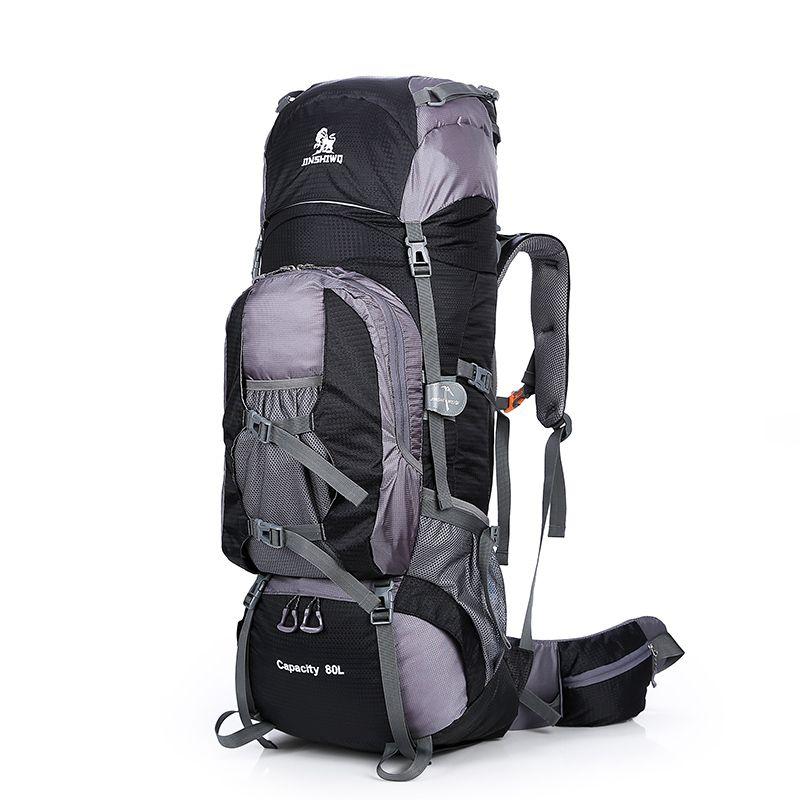 Большой 80L Открытый Рюкзак Дорожная восхождение рюкзак походы спортивная сумка Кемпинг рюкзак большой емкости Горный рюкзак