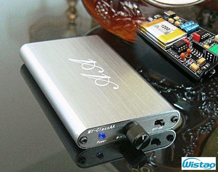 HIFI Headphone Amplifier Portable Ultra-Class A (Class AA) OPA2604 plus LM4562 320Mw 16~300ohms Li Battery Ultra-thin Body Audio