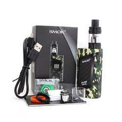100% Original SMOK Alien 220W Kit Smok Alien TC Box Mod with 3ML TFV8 Baby Tank V8 Baby-T8 V8 Baby-Q2 coil head VS SMOK AL85 Kit