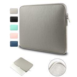 Waterproof Laptop Sleeve Bag Case for MacBook Pro 13 15 Air 13 11 Shockproof PU Laptop Sleeve Bag for Macbook A1706 1708 2017