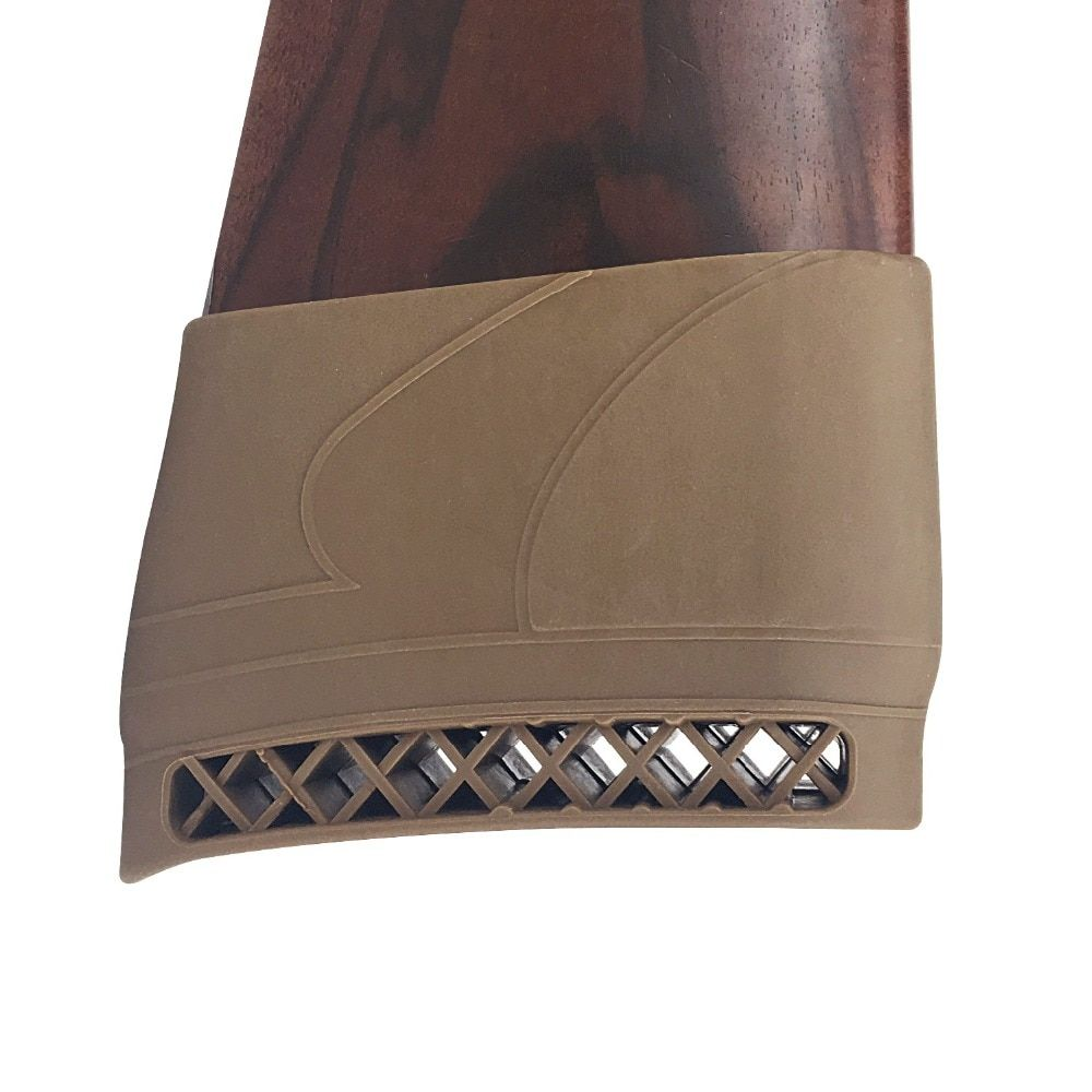 Tourbon Hunting Rifle Rubber Buttstock Pad Shotgun Slip-on Recoil Pads Shoulder Protector for Shooting Gun Accessories