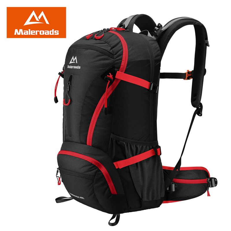 Maleroads 40L Travel Backpack Trekking Rucksack Camp Hike Bag Men Women Backpack Climb Outdoor Sports Backpack Assault Rucksack