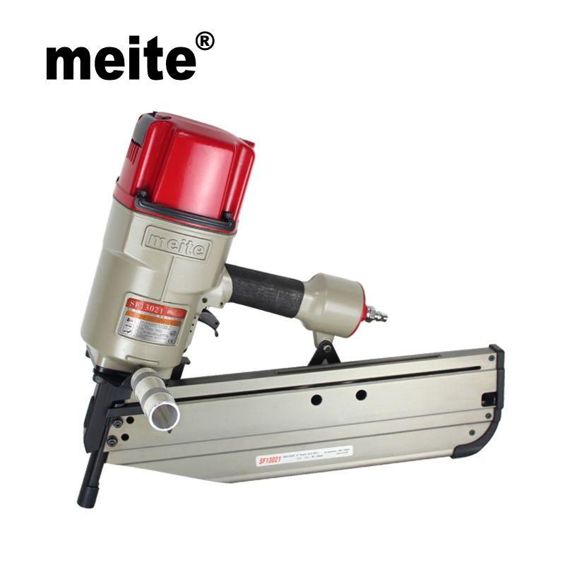 Meite SF13021 21 grad clipped kopf pneumatische streifen air nagler pistole pneumatische werkzeuge May.5th Update werkzeug