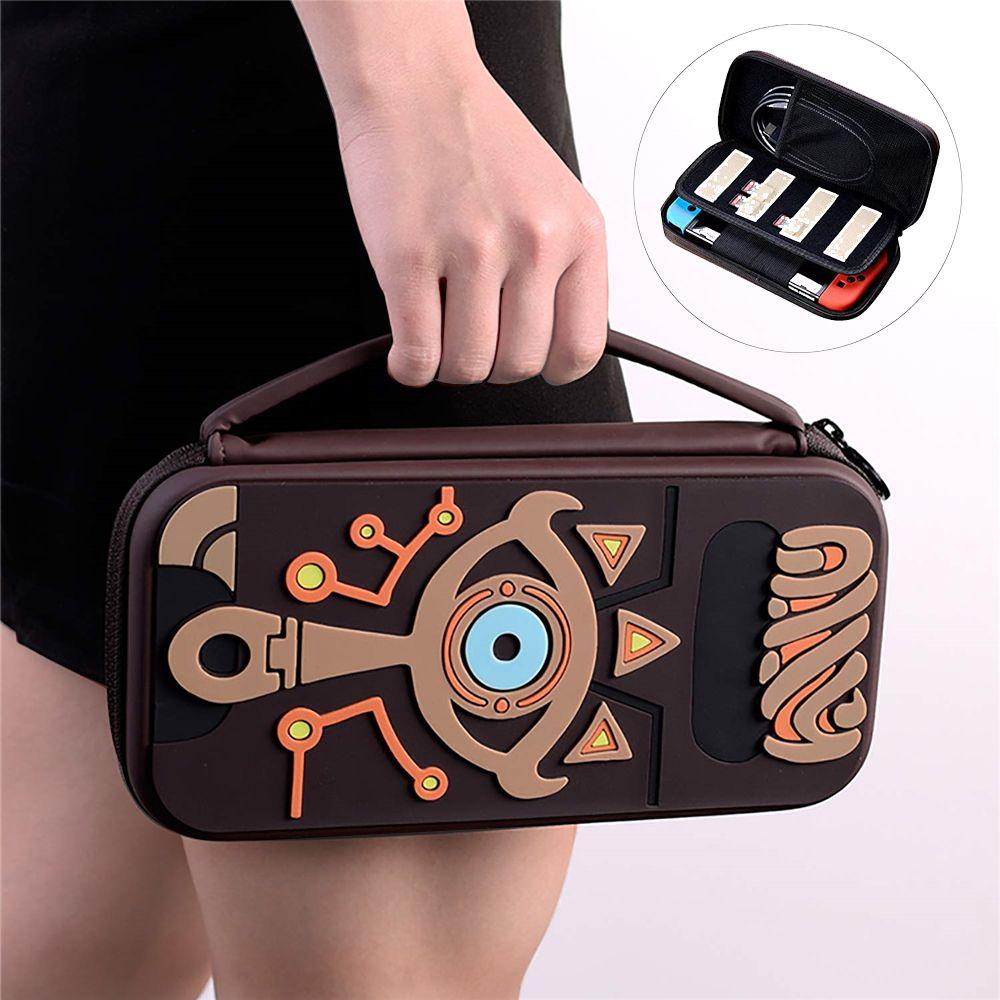 Pour la housse de transport de commutateur de nessa accessoires sac de rangement Protection étui de voyage portable en caoutchouc EVA dur pour Console NS