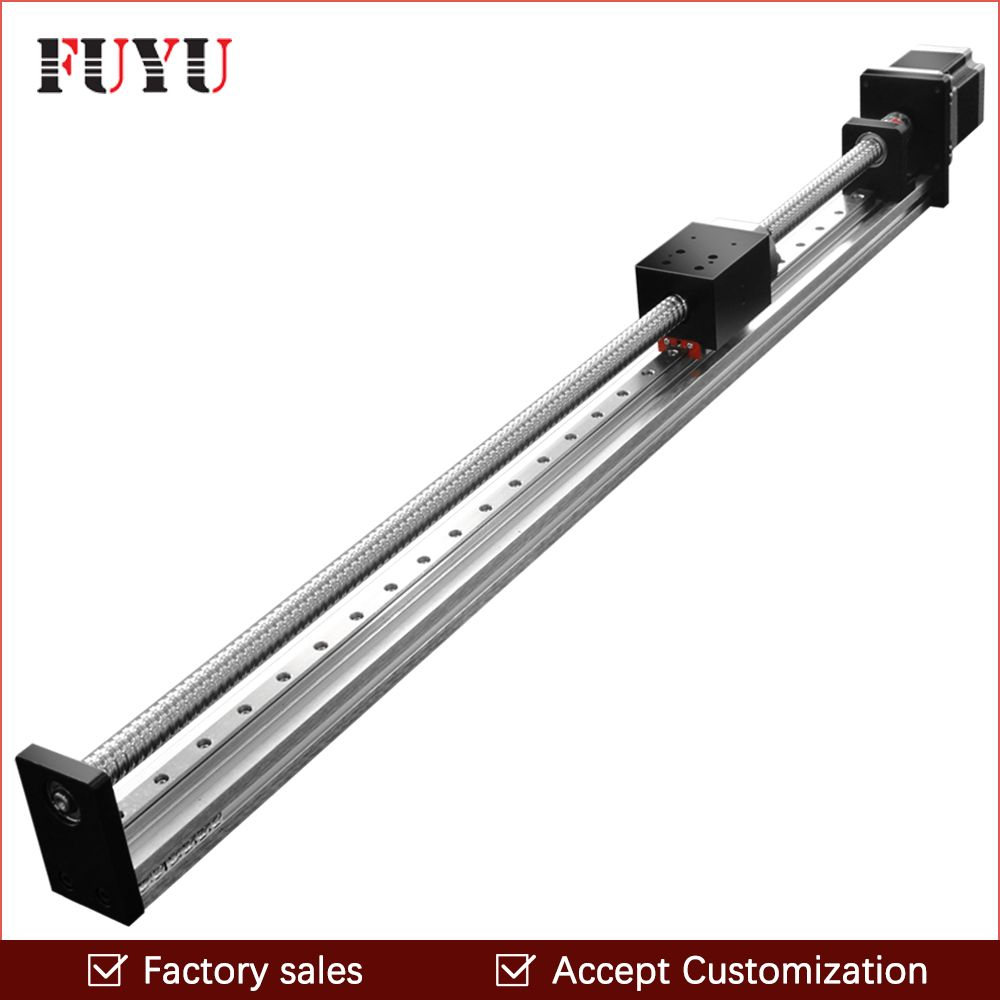 Free shipping FUYU Brand C7 Ball Screw Driven Linear Motion Stage Actuator Guide Rail For 3d Printer Robotic Arm Kit