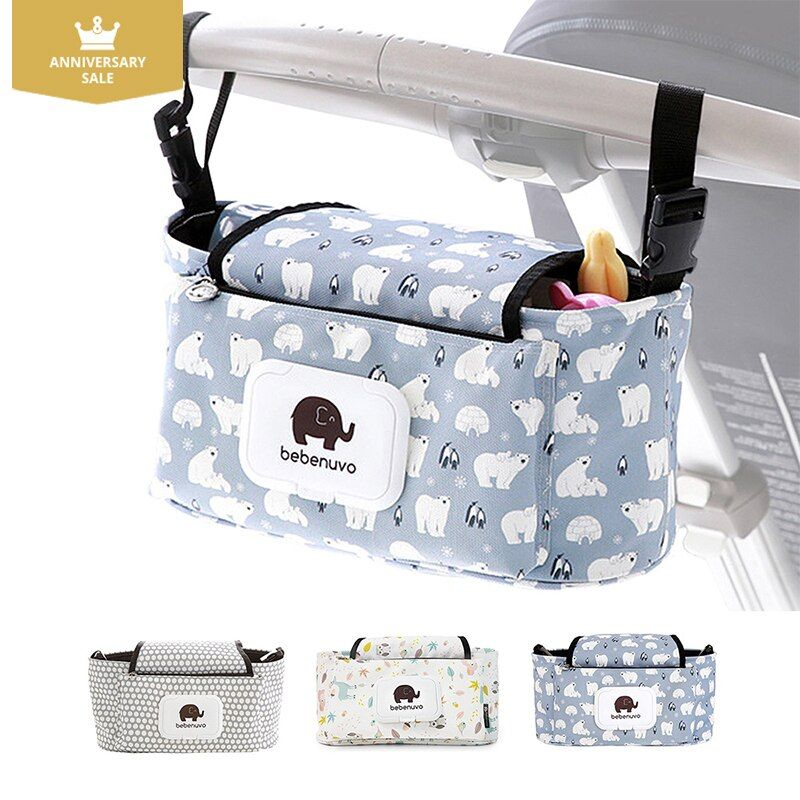 Baby Stroller bag Universal Cup bag Baby Stroller <font><b>Organizer</b></font> Baby Carriage Pram Baby Cup Holder Stroller Accessories Bag Kidwagon