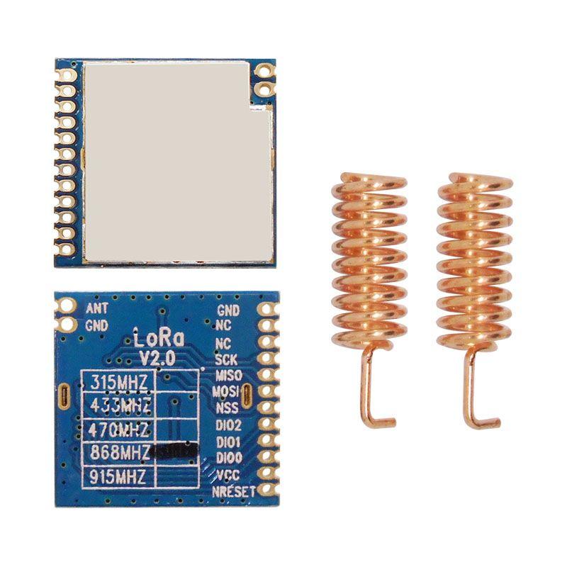 2pcs/lot 868MHz | 915MHz 100mW sx1276 chip long range 4Km RF Wireless LoRa Module LoRa1276