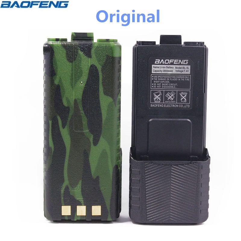D'origine BAOFENG UV-5R BL-5L 7.4 v 3800 mah Li-ion Haute Capacité Batterie Pour Baofeng Talkie Walkie UV-5R Série Deux Façon radio