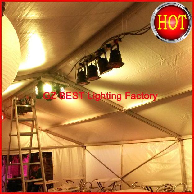14 unids/lote Envío Rápido American DJ Precio Barato de la caliente-venta LED Flat SlimPar Luz Tri-rgb 7x9 W 7 Canales DMX