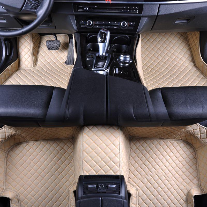 Custom fit car floor mats for Mercedes Benz GLA CLA GLK GLC G ML GLE GL GLS A B C E S W204 W205 W211 W212 W221 W222 W176 liners