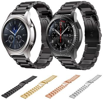 New Stainless Steel Watch Band For Samsung Galaxy Gear S3 Frontier Band For Samsung Gear S3 Classic Replacement Wrist Strap