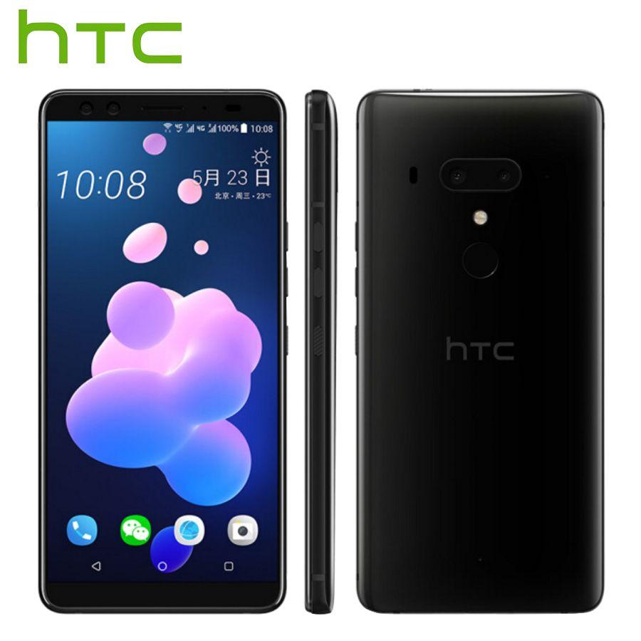 Heißer Verkauf HTC U12 Plus 4g LTE Handy 6 gb 128 gb/64 gb Android 8 Snapdragon 845 octa Core 6,0 zoll 2 karat Bildschirm IP68 Smart Telefon