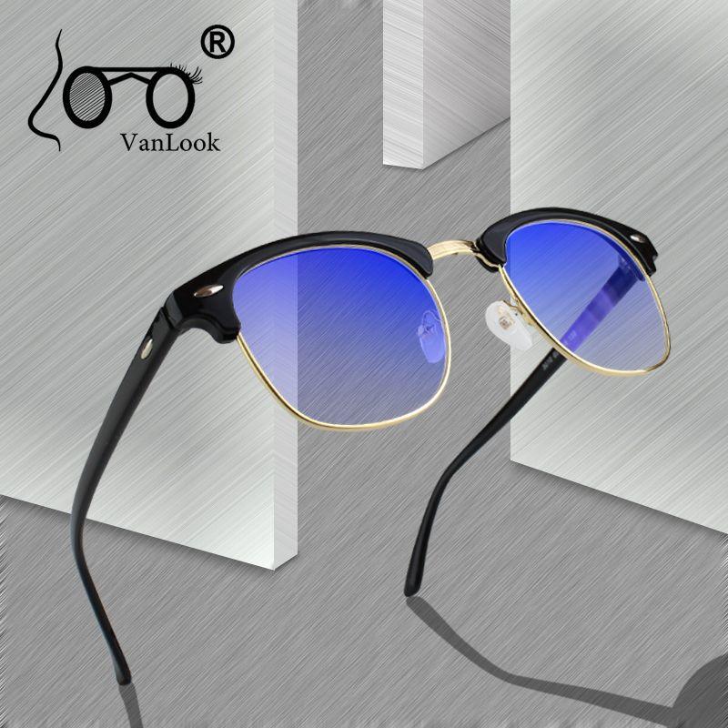 Lunettes d'ordinateur transparentes pour femmes hommes monture de lunettes Anti rayon bleu clair mode lunettes surdimensionnées bleu blocage de la lumière