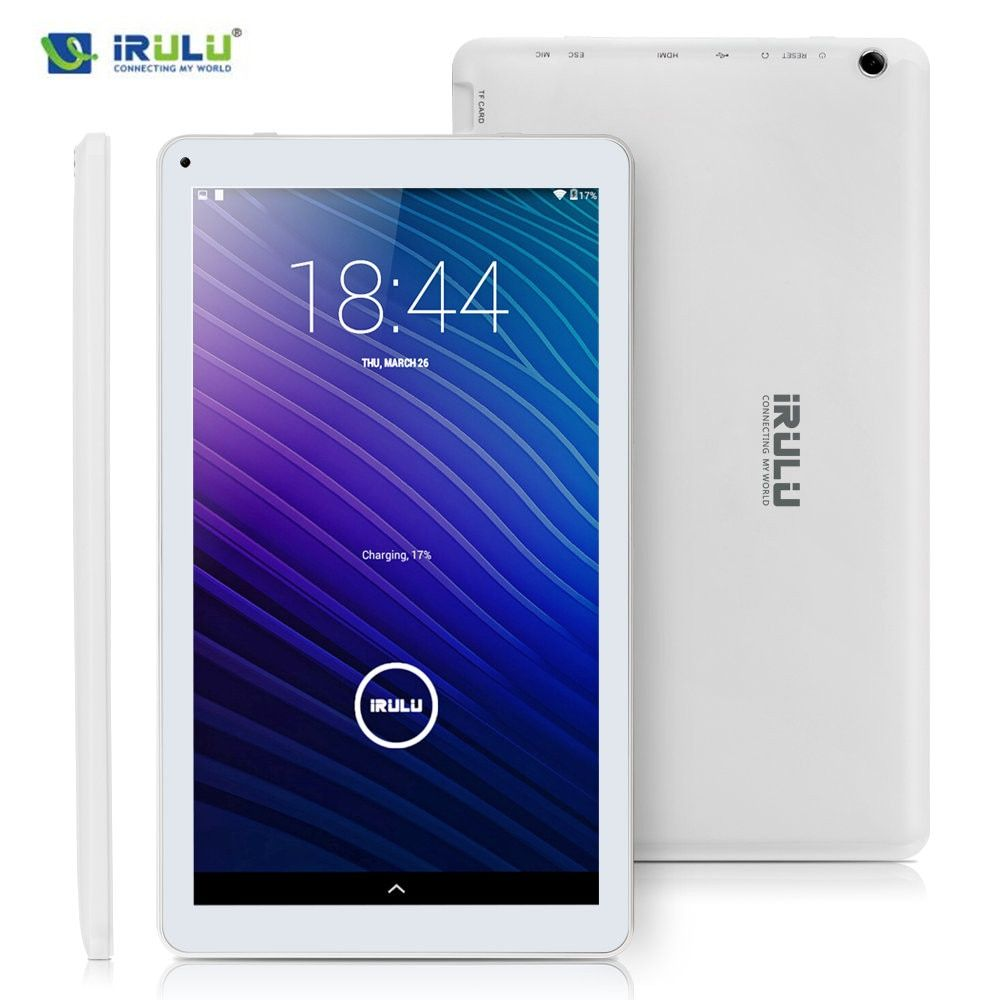 iRULU eXpro 2 Plus tablet (X2 Plus) 10.1 Android 5.1 Tablet PC Octa Core 1.8gHz 1024*600 Display 1GB RAM 16GB ROM Dual Came