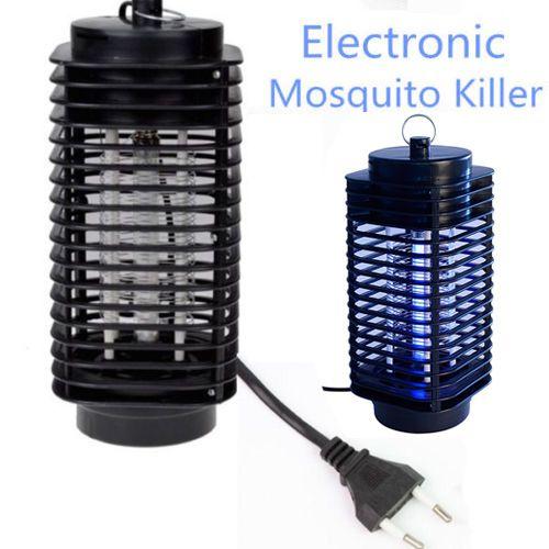 Électronique Moustique Tueur Piège Moth Fly Wasp Led Nuit Lampe Bug Insectes Lumière Noir Tuer Les Ravageurs Zapper US Plug UE