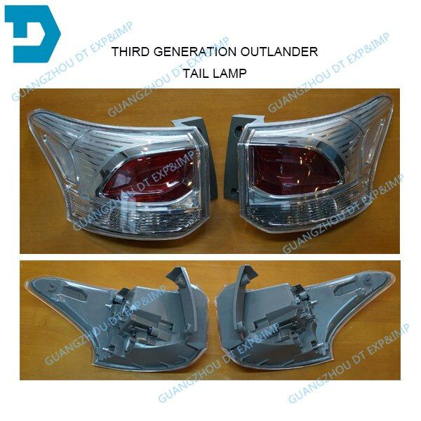 2013-2018 outlander halogen tail lamp airtrek halogen back lamp without bulb buy 2 piece if you need 1 pair