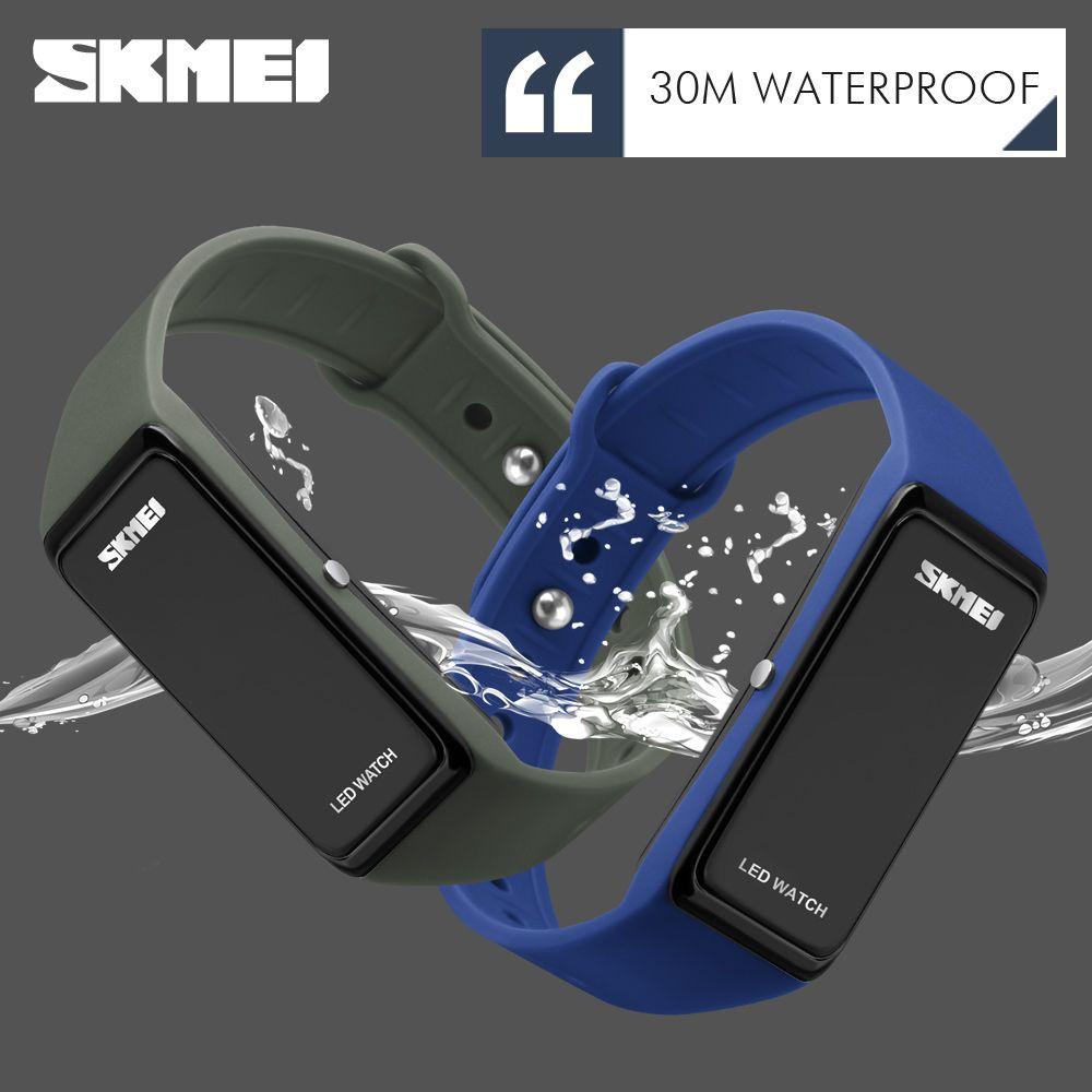 Skmei brand Men Sports Watches Children Digital Watch Women Sports Watches LED Wrist watch Dress Wristwatches Relogio Masculino