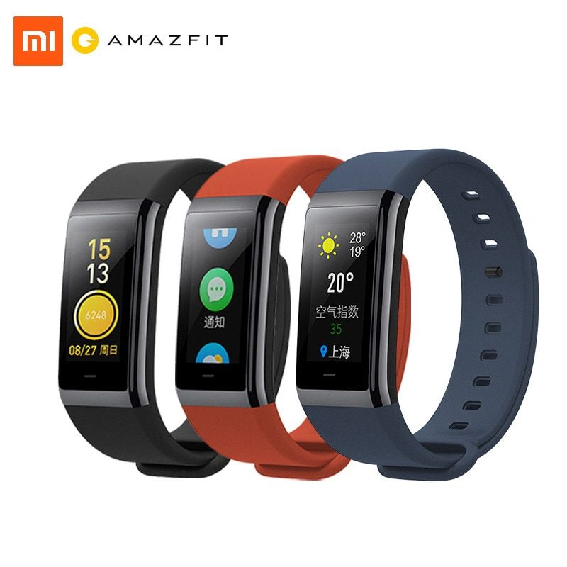 Xiaomi Amazfit Sport Cor Health Smart Band Heart Rate Fitness Tracker 50M Waterproof 1.23 inch Color IPS Screen 12 Days Standby