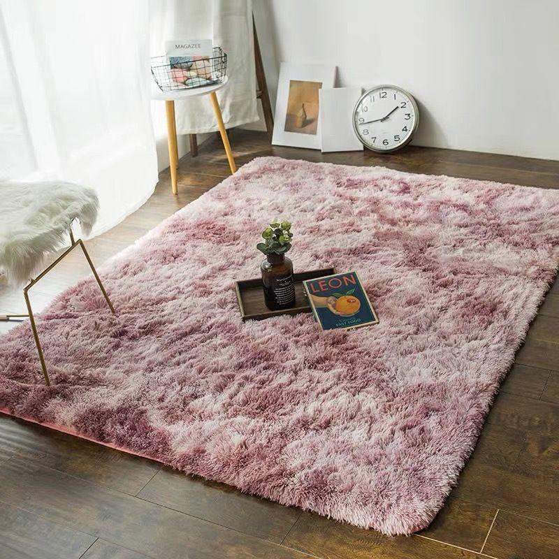 New Tie-dyeing Colors Bathroom Mat Floor Decor Carpets Customized Size Bath Mat Plush Rugs For Toilet WC Lavatory Room Doormats