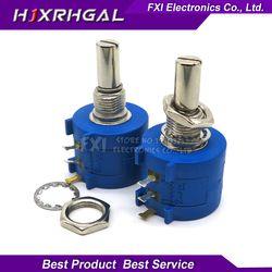 1 шт. 3590S-2-103L 3590S 10K ohm 3590S-2-103 3590S-103 Precision Multiturn потенциометр 10 кольцо регулируемый резистор