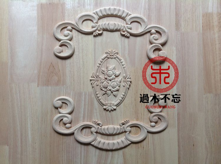Don't forget the definition of a wooden carving wood doors Flower Floral Rose oval window decal fireplace door flower