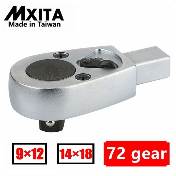 MXITA clé dynamométrique ouverte insert tête à cliquet 9X12 14X18