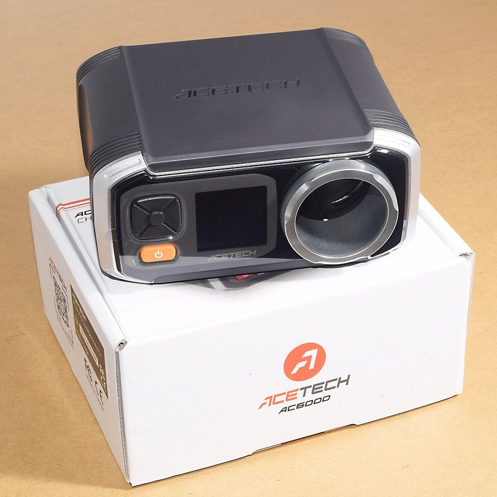 2018 neueste Modell Airsoft AC6000 Besser Als X3200 Schießen Chronograph Speed Tester mit Pixel OLED FPS Chrono
