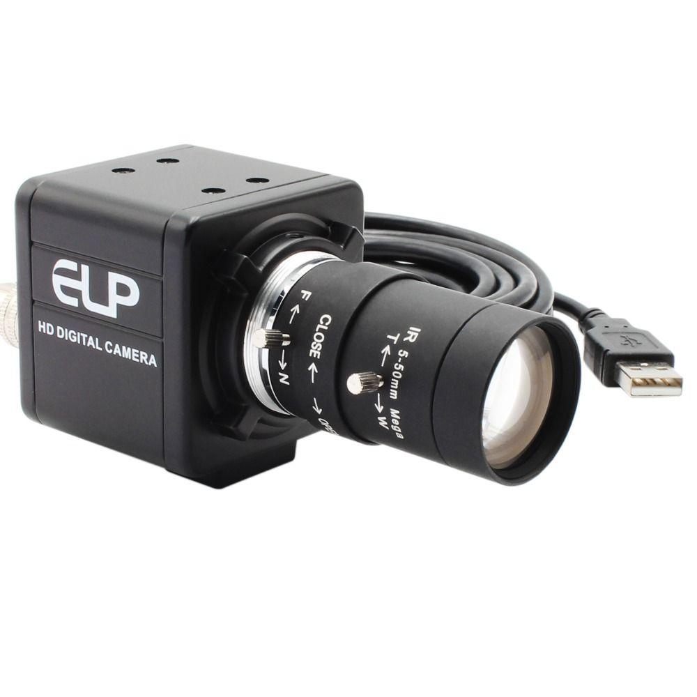 CCTV Vario 5-50mm objektiv 8 Megapixel SONY (1/3. 2 '') IMX179 Windows, Android, Linux raspberry pi kamera 8mp mini USB kamera