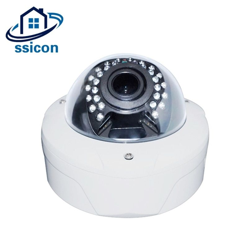 SSICON H.265 180 Degree 360 Degree 4MP Outdoor IP Camera Fisheye 30Pcs Leds IR Distance 30M Dome Panoramic IP Camera Onvif