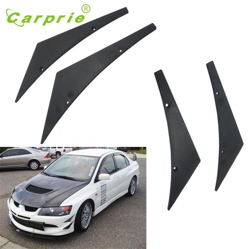 2017 New Front Bumper Lip diffuser Splitter Fins Body Spoiler Canards Valence Chin car-styling car styling Apri24