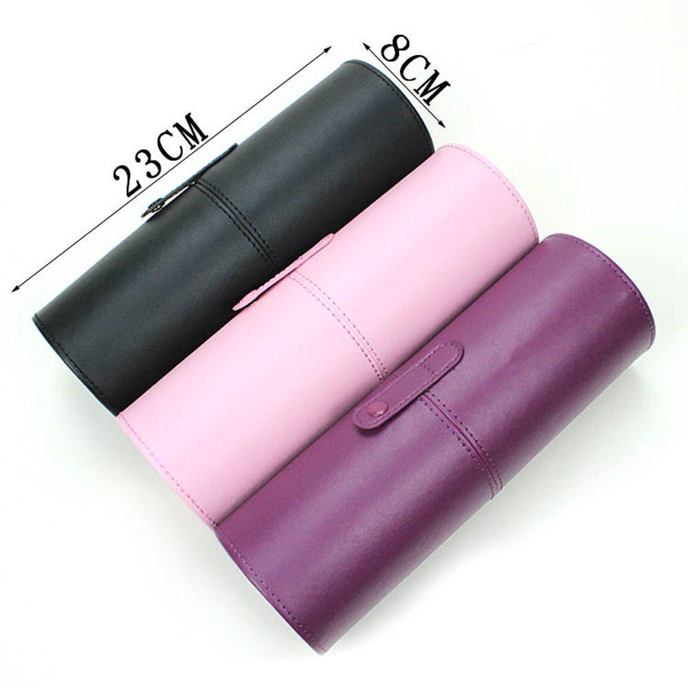 PU cuir vide maquillage brosse conteneur sac titulaire voyage cosmétique brosses stylo étui rangement brosses organisateur maquillage outils