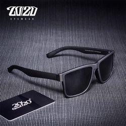 Классические поляризационные солнцезащитные очки для мужчин, очки для вождения, черная оправа, очки для рыбалки, мужские солнцезащитные оч...