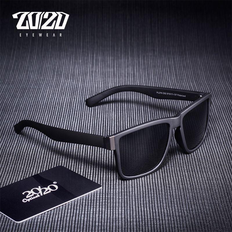 Lunettes de soleil polarisées classiques hommes lunettes de conduite revêtement noir cadre pêche conduite lunettes hommes lunettes de soleil Oculos PL278