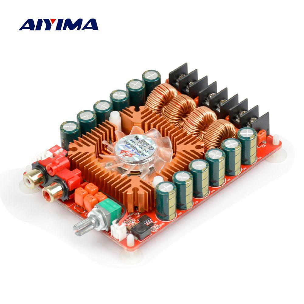 TDA7498E 160W*2 High Output Power Digital Amplifier Board Dual Channel Audio Stereo Amplifier Support BTL Mode Module