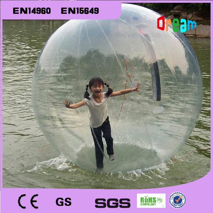 Free LOGO 2m Plastic Tent Water Pool Ocean Walk Ball Water Zorb Water Sport Inflatables Water Walking Ball