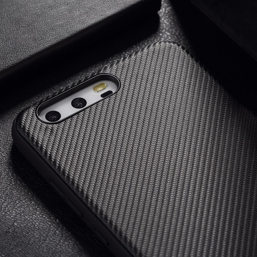 ROCK Carbon Fiber Phone Case for Huawei P10 P10 plus, Back cover for Huawei P10