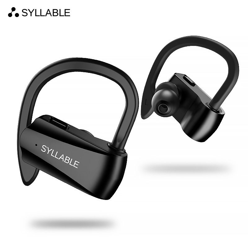 SYLLABLE D15 bluetooth V5.0 earphone noise reduction bluetooth SYLLABLE headset for mobile phone wireless sports bass earphone