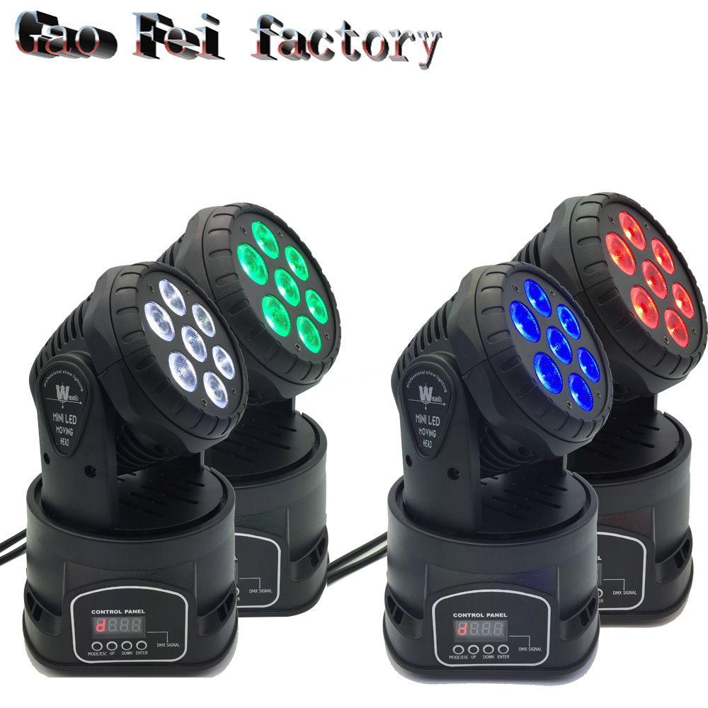 4pcs/lot good quality led par quad 7x12w wash dmx par light dj par rgbw 4in1 dmx led flat par light led lamp
