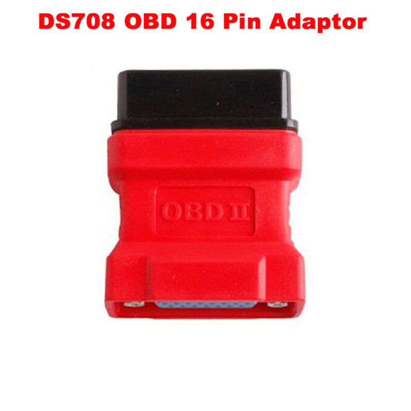 Autel Maxidas DS708 scanner OBD2 OBD II connector 16 pin adaptor ds708 obd16 pin connector free shipping