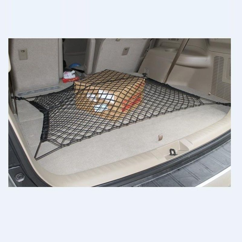 Practical Nylon Stretch Luggage Net Baggage Nets For all car Fixed Network 70 x 70cm Car Trunk Luggage Stacking Shelf Net