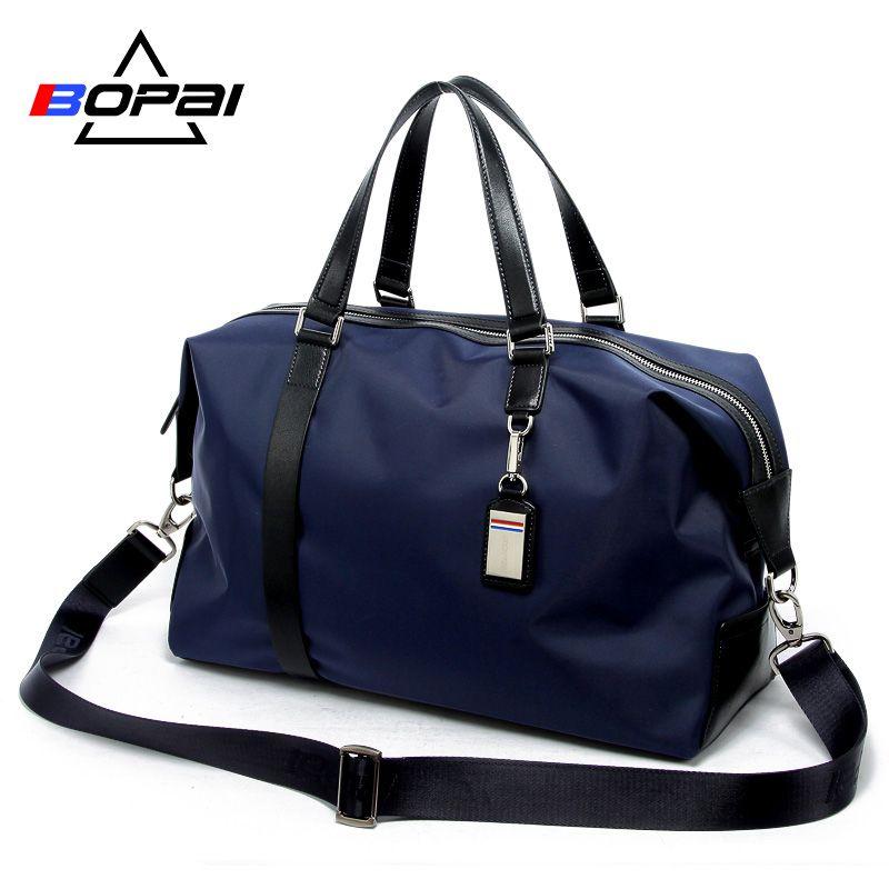 BOPAI hommes sac de voyage grande capacité multifonctionnel sac à main fourre-tout épaule sacs de voyage bagages femme étanche sac à main